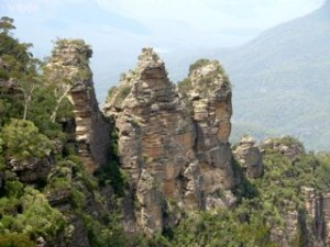 The 3 Sisters in the Blue Mountains