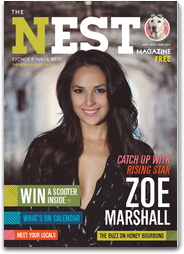 Cover of The Nest magazine